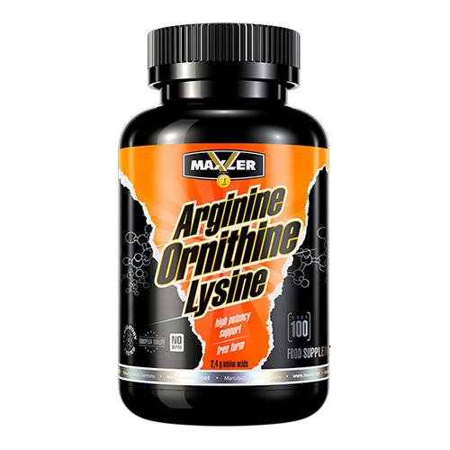 Maxler Arginine-Ornithine-Lysine 100 caps