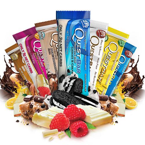 QuestBar 60 g разные вкусы