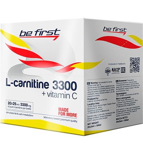 Be First L-Carnitine 3300 20×25 ml