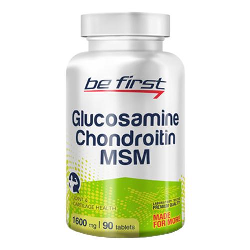 Be First Glucosamine Chondroitine MSM 90 tab