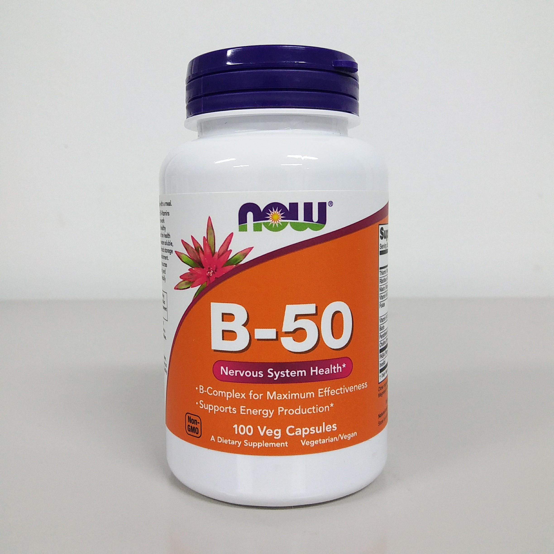 NOW B-50 100 vcaps