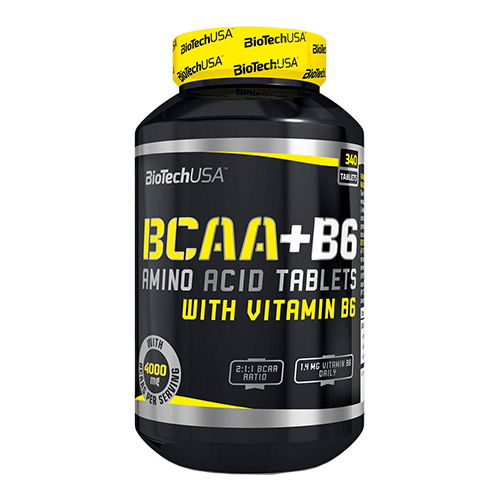 BioTechUSA BCAA+B6 340 tab