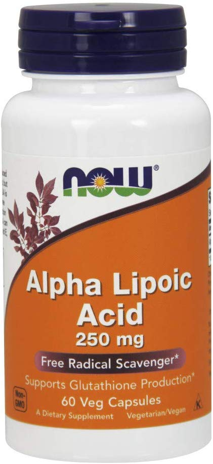NOW Alpha Lipoic Acid 250 mg 60 vcaps