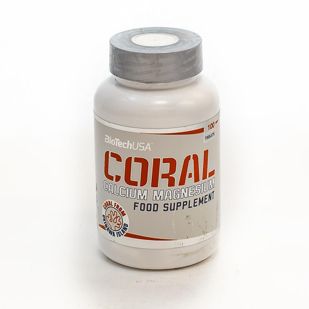 BioTechUSA Coral Calcium + Magnesium 100 tab