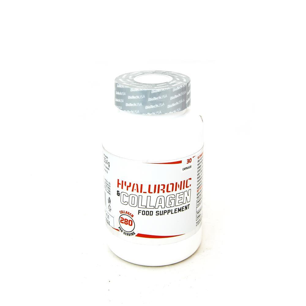 BioTechUSA Hyaluronic + Collagen 30 caps