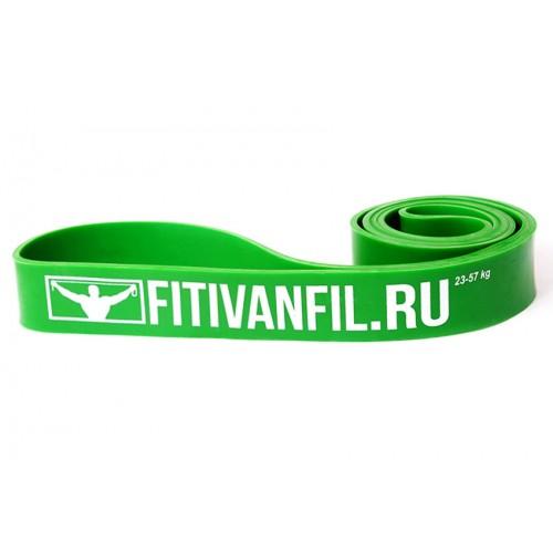 Fitivanfil Резиновая петля 23-57 кг зелёная
