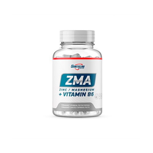 GeneticLab ZMA 60 caps