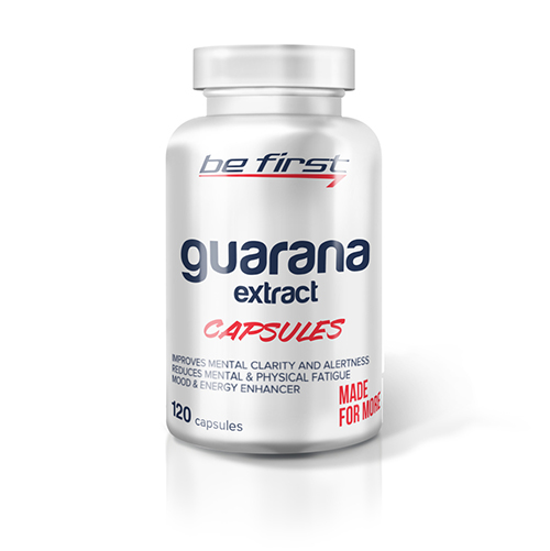 Be First Guarana Extract 120 caps