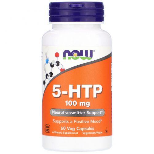 NOW 5-HTP 100 mg 60 caps