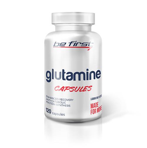 Be First Glutamine 120 caps