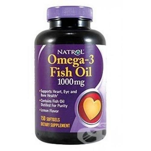 Natrol Omega-3 Fish Oil 150 caps