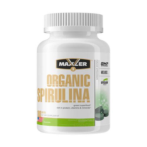 Maxler Organic Spirulina 500 mg 180 tab