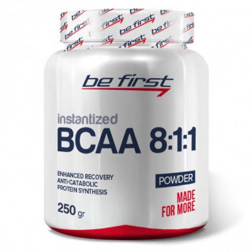 Be First BCAA 8:1:1 Instentized Powder 250 g