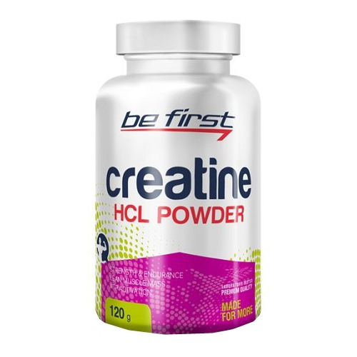 Be First Creatine HCL Powder 120 g