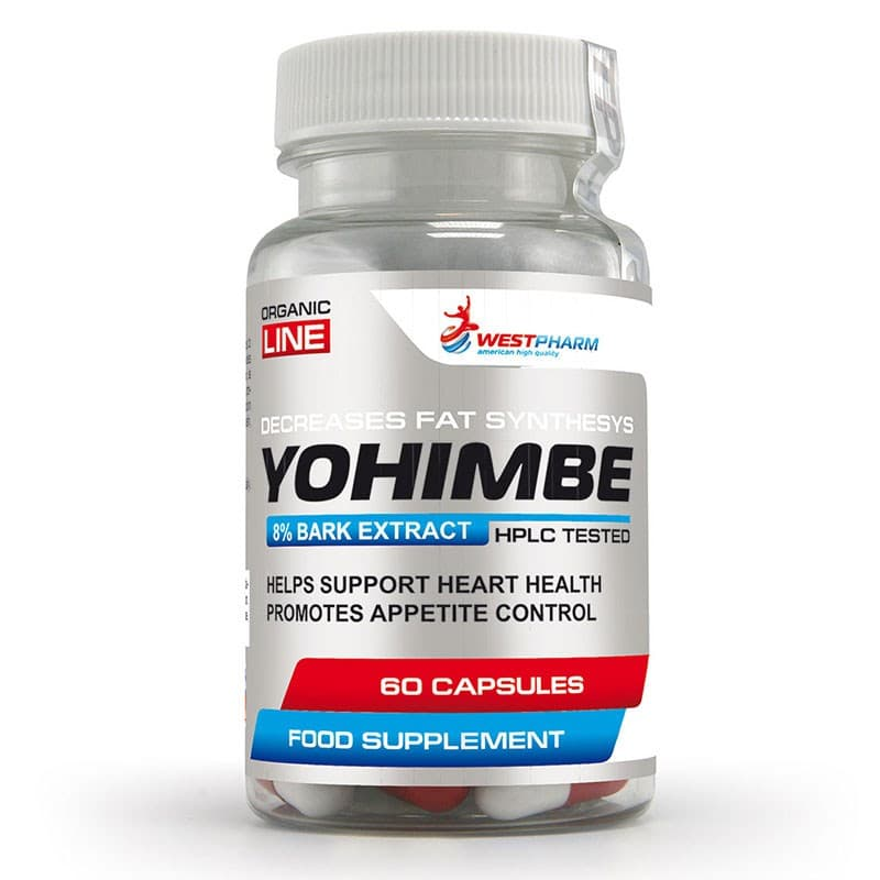WestPHARM Yohimbe 60 caps