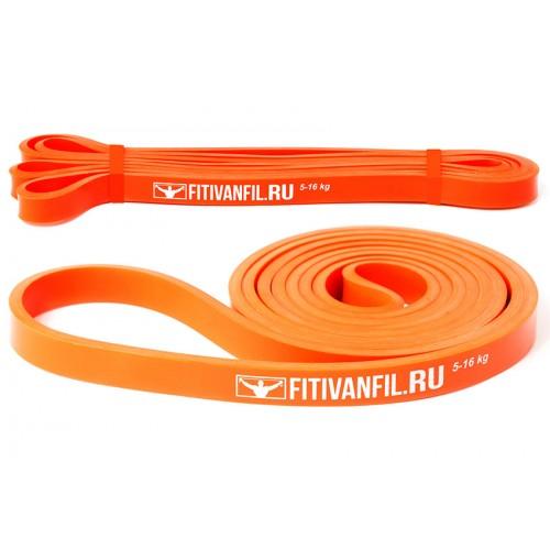 Fitivanfil Резиновая петля 5-16 кг оранжевая