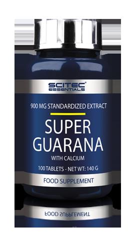 Scitec Essentials Super Guarana 100 tabs