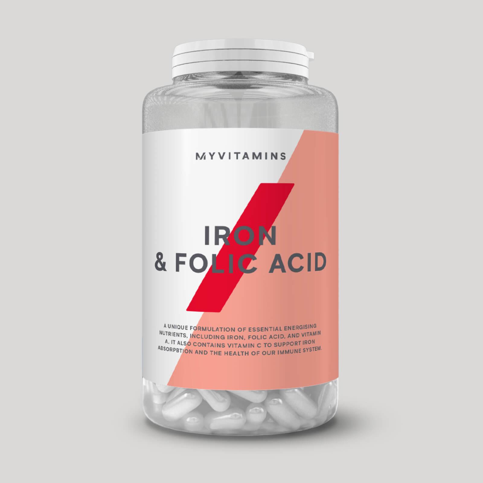 MyProtein Iron & Folic Acid 90 tab