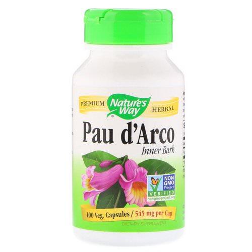Nature's Way Pau D'Arco 100 vcaps