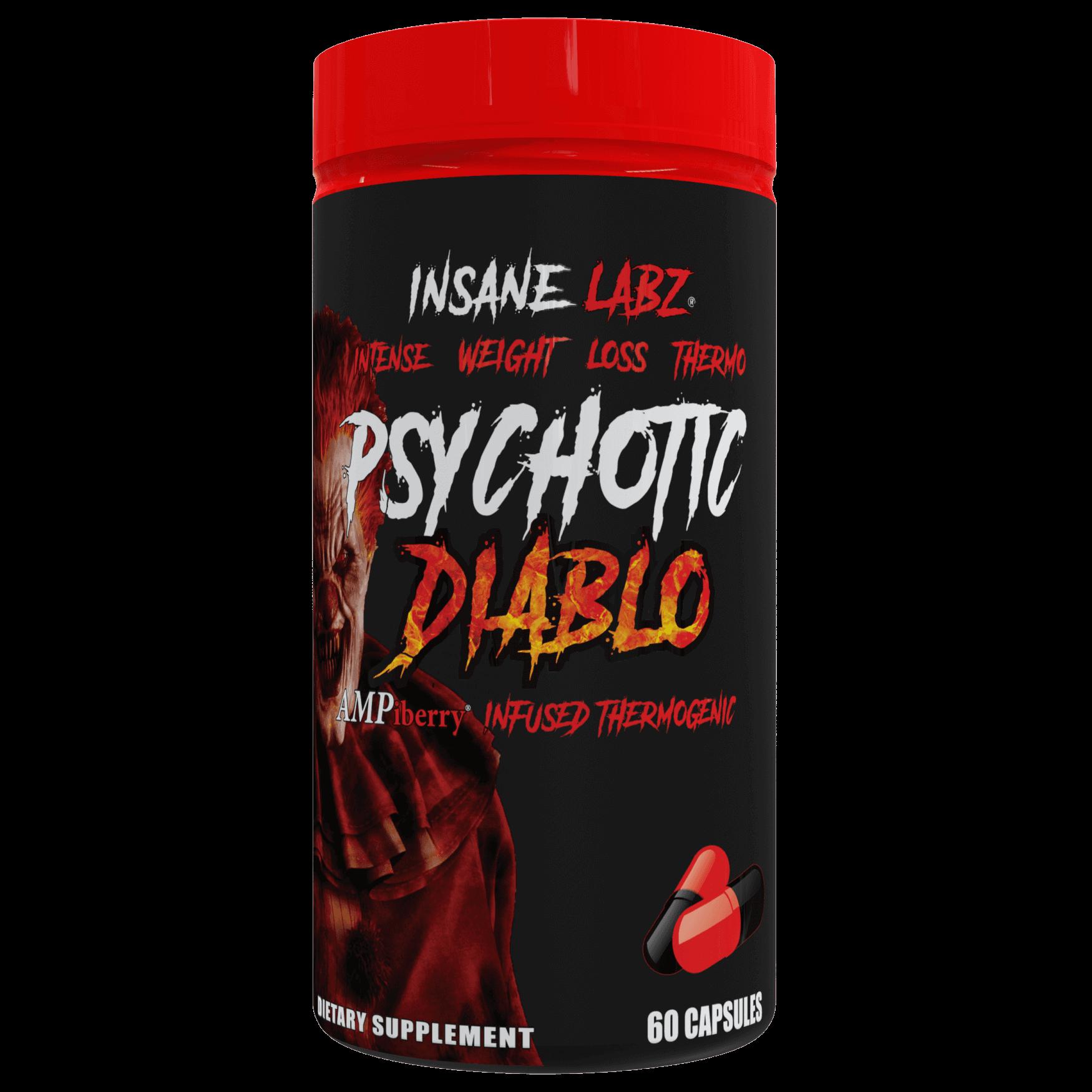 Insane Labz Psychotic Diablo 60 caps