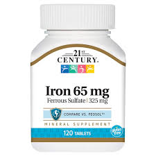21st Century Iron 120 tab