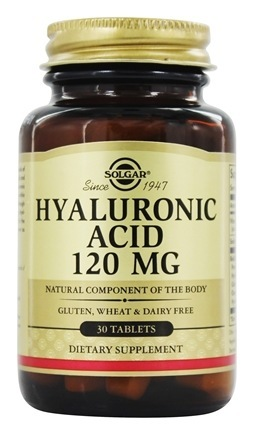 Solgar Hyaluronic Acid 120 mg 30 tab