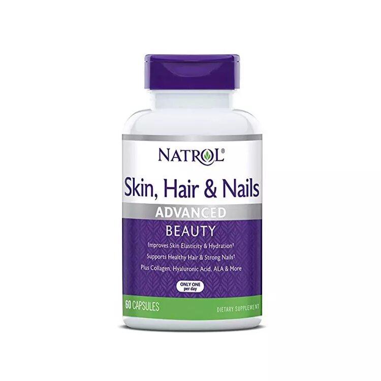 Natrol Skin-Hair-Nails 60 caps