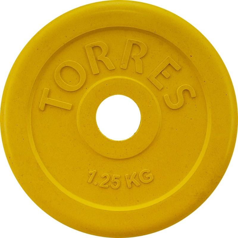 Torres Диск обрезиненный 1,25 кг