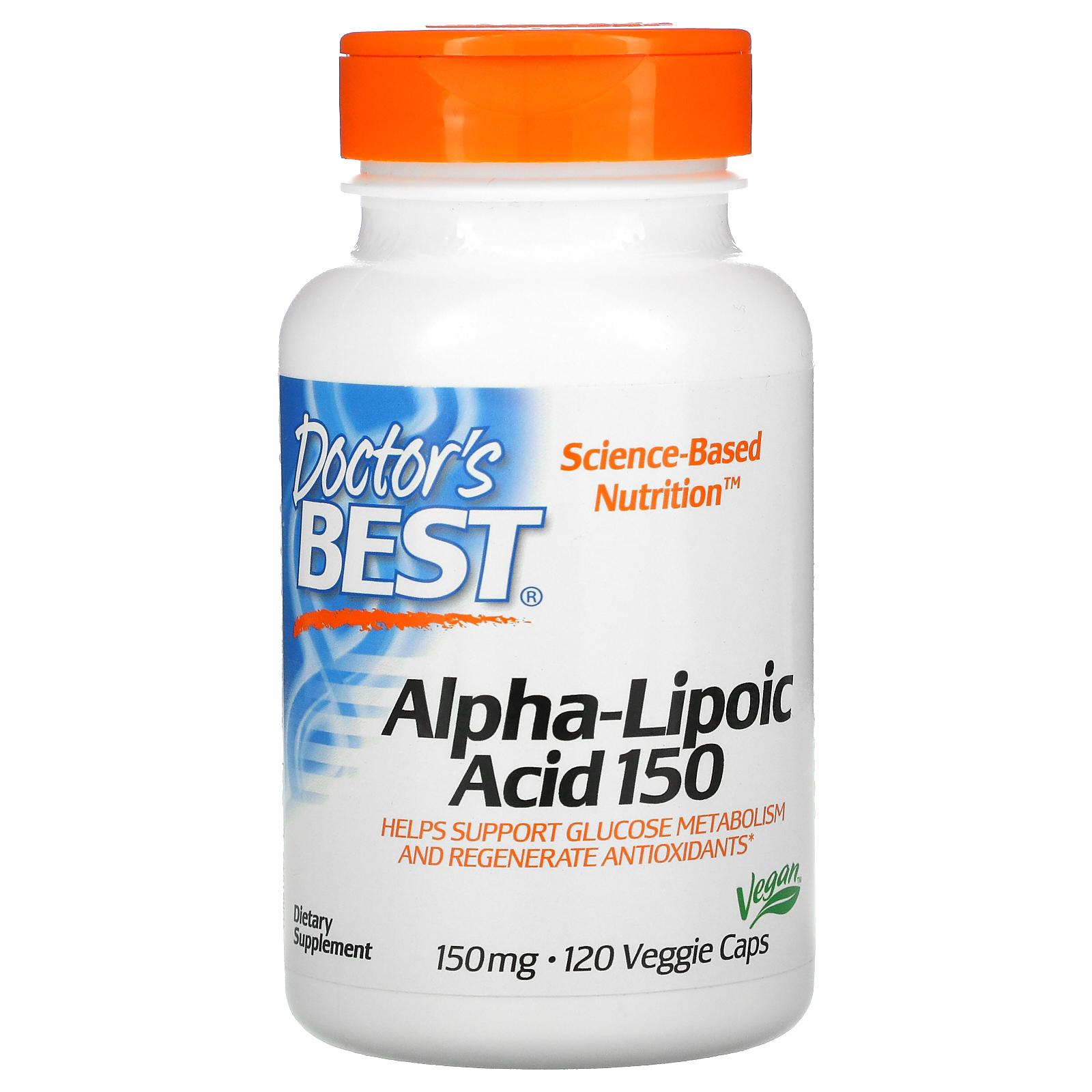 Doctor's Best Alpha-Lipoic Acid 120 vcaps