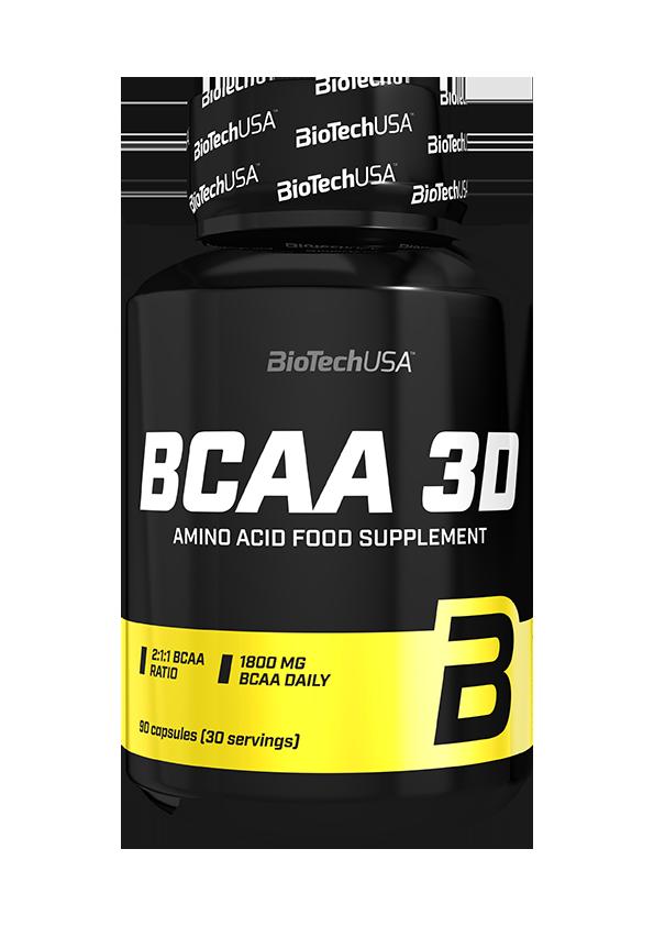 BioTechUSA BCAA 3D 180 caps