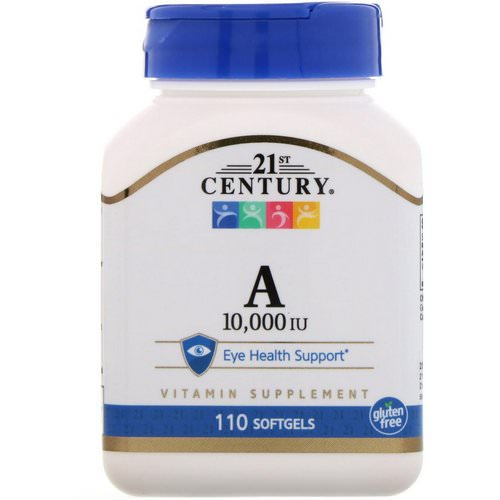 21st Century Vitamin A 10000 ME 110 softgels