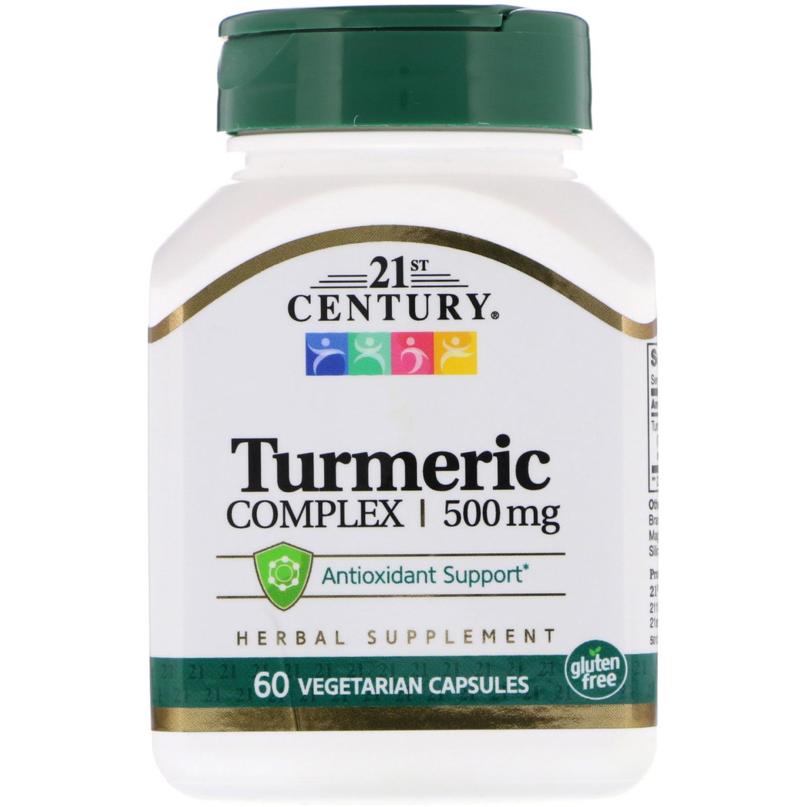 21st Century Turmeric complex 60 vcaps