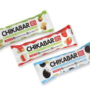 Chikalab Батончик глазированный с начинкой 60 г