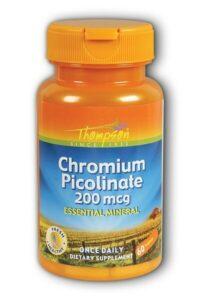 Thompson Chromium Picolinate 60 tab