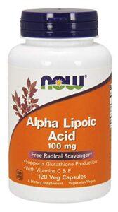 NOW Alpha Lipoic Acid 100 mg 120 vcaps