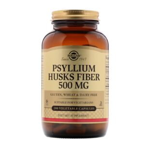 Solgar Psyllium Husks Fiber 500 mg 200 caps