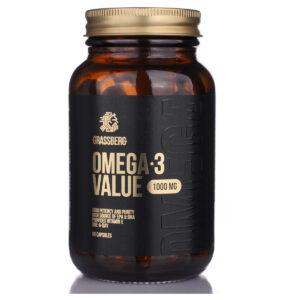 GRASSBERG Omega Value 1000 mg 90 caps