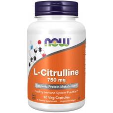 NOW L-Citruline 750 mg 90 caps