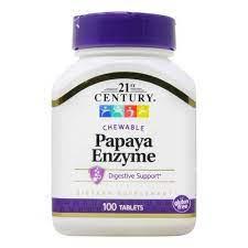 21st Century Papaya Enzyme 100 tab