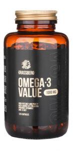 GRASSBERG Omega Value 1000 mg 120 caps