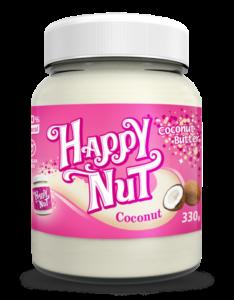 Happy Nut Кокосовая паста натуральная 330 g