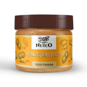 NUTCO Арахисовая паста хрустящая — 100 гр.