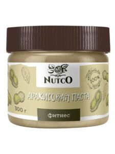 NUTCO Арахисовая паста фитнес — 300 гр.