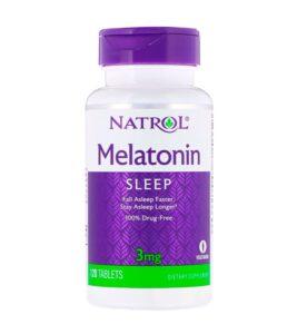NATROL Melatonin 3 мг 120 табл