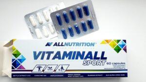 ALLNUTRITION, Vitaminall SPORT, 60 капсул