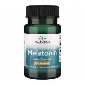Swanson, Мелатонин, 3 мг, 60 капсул