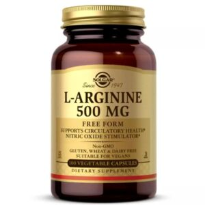 Solgar L-Arginine 500 мг 100 caps