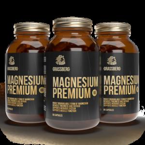 GRASSBERG Magnesium Premium B6 60 tabs