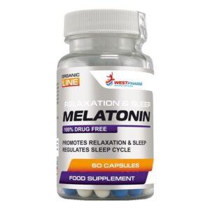 WestPharm Melatonin 60caps 10mg