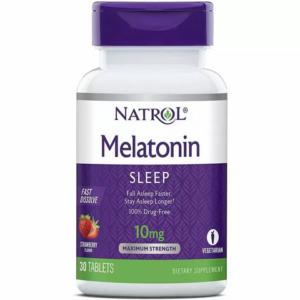 NATROL Melatonin 10 mg 30 tabs